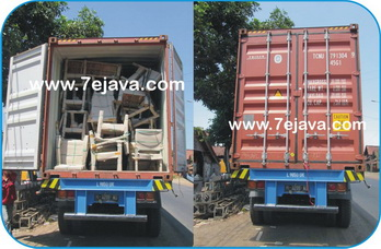 Stuffing Container by Triton shipping line