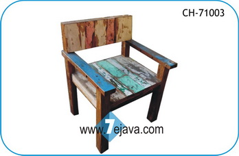 BOAT WOOD CHAIR 3
