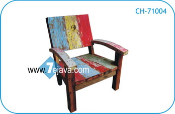 boat wood chair 6