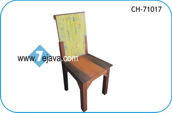 BOAT WOOD CHAIR 13