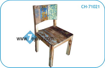 BOAT WOOD CHAIR 10