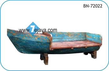 Recycled Boat Wood Furniture, Recycled Boat Wood Furniture Sofa